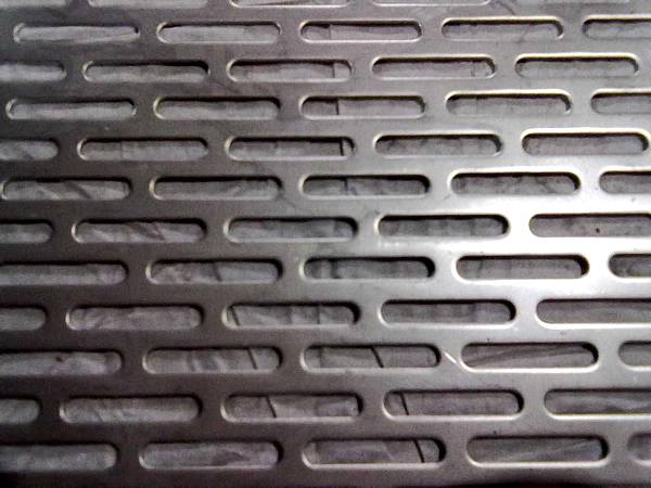 Perforated Metal for Door Decoration